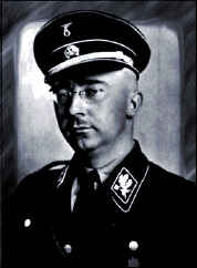Heinrich Himmler head of the Gestapo in Nazi Germany