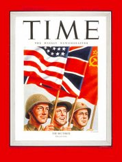 "The ""Big Three"" on the cover of TIME (May 14, 1945)"