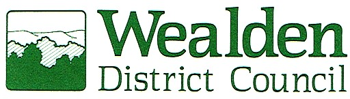 Wealden District Council's green logo for headed letters