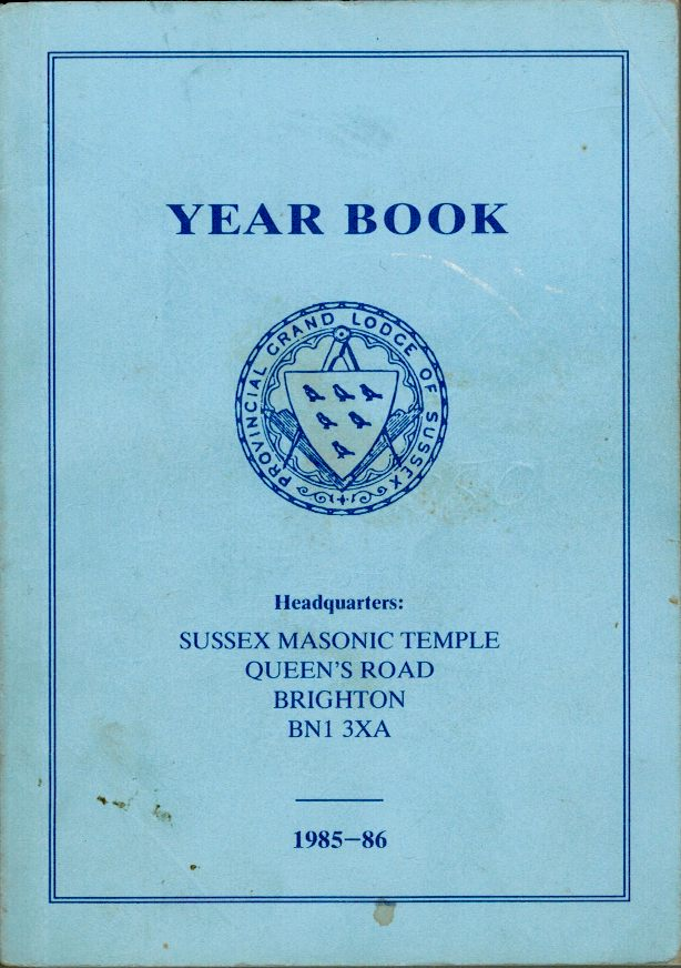 Masonic Year Book 1985 cover
