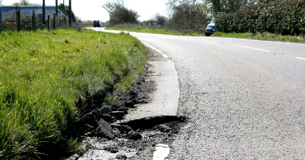Pot hole politics, money for the boys Vs fraud for the road tax payer