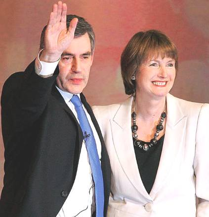 Harriet Harman campaigns for the Labour Party deputy leadership